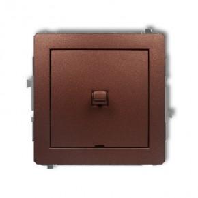 Wylaczniki-amerykanskie - włącznik pojedynczy amerykański brązowy metalik deco 9dwpus-1 karlik
