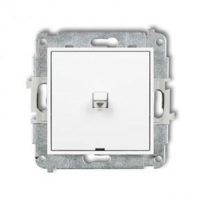 Wylaczniki-amerykanskie - włącznik pojedynczy amerykański biały mini mwpus-1 karlik