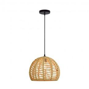 Lampy-sufitowe - otis lampa wisząca sufitowa sznurowa boho e27 316837 polux