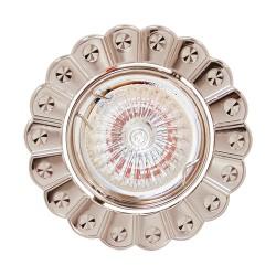 Oprawy-sufitowe - matowe oczko sufitowe ze wzorkiem mr16 12v papatya 01245 ideus