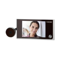 Dzwonki-i-domofony - elektroniczny wizjer do drzwi virone dv-1 orno