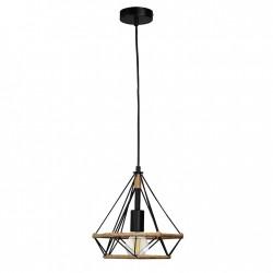 Lampy-sufitowe - lampa wisząca sufitowa w industrialnym stylu e27 il mio rope broxton 314529 polux