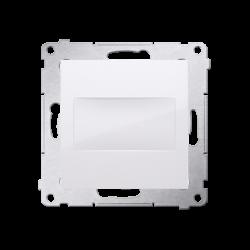 Pokrywy-do-gniazd - biała zaślepka z mostkiem dps.01/11 simon 54 kontakt-simon