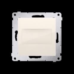 Zaslepki - zaślepka z mostkiem kremowy dps.01/41 simon 54 kontakt-simon