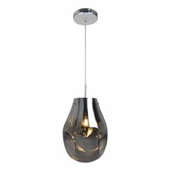 Lampy-sufitowe - nowoczesna lampa sufitowa w chromowanej obudowie e27 il mio rope kimberly chrome 316271 polux