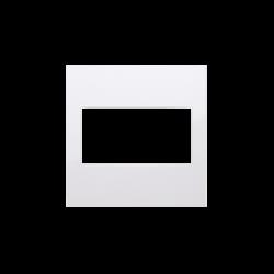 Zaslepki - biała zaślepka bez mostka dp/11 simon 54 kontakt-simon