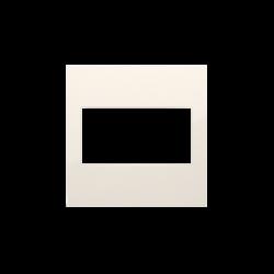 Zaslepki - kremowa zaślepka bez mostka dp/41 simon 54 kontakt-simon