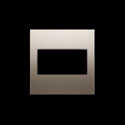 Zaslepki - zaślepka bez mostka złoty mat dp/44 simon 54 kontakt-simon