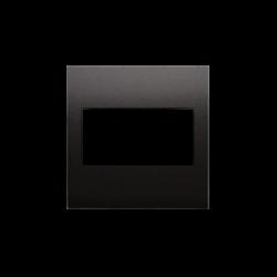 Zaslepki - zaślepka bez mostka antracyt dp/48 simon 54 kontakt-simon