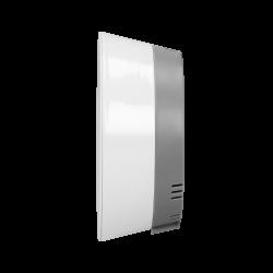 Termometry-i-stacje-pogodowe - stacja pogodowa bezprzewodowa z pomiarem temperatury zewnętrznej i wewnętrznej biało-szara or-sp-3100/w-g orno
