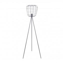 Lampy-stojace - lampa industrialna na trójnogu e27 heka vo1274 volteno