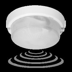 Plafony - oprawa oświetleniowa z mikrofalowym czujnikiem ruchu o mocy 100w ip44 a2110-m-hf orno