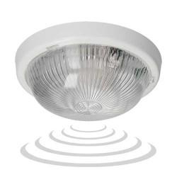 Plafony - oprawa oświetleniowa z mikrofalowym czujnikiem ruchu na żarówkę e27 100w e27 a2210-hf orno