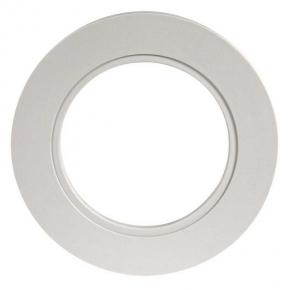 Ramka do opraw LED pojedyncza okrągła szara LSR-SZO-X1 KONEKTO ZAMEL