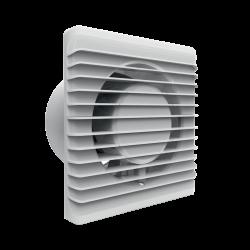 Wentylatory-o-srednicy-100 - biały wentylator do łazienki natynkowy z czujnikiem wilgoci i timerem or-wl-3200/100/ht orno