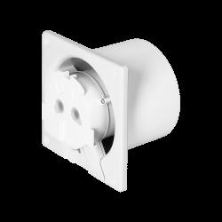 Wentylatory-o-srednicy-100 - standardowy wentylator łazienkowy 100mm ścienno-sufitowy or-wl-3201/100/s orno