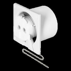 Wentylatory-o-srednicy-100 - wentylator łazienkowy z wyłącznikiem sznurkowym 100mm ścienno-sufitowy or-wl-3201/100/ps orno