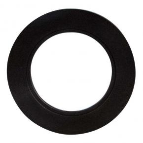 Ramka do opraw LED okrągła czarna pojedyncza LSR-CO-X1 KONEKTO LED