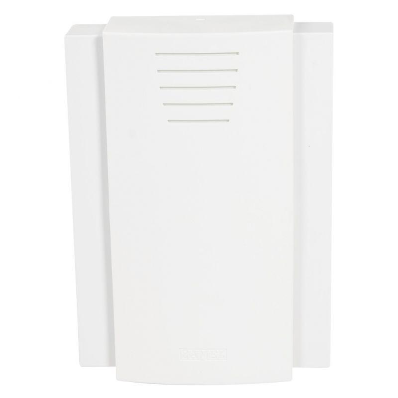 Gongi-elektryczne - biały gong drzwiowy bim-bam largo  8v gnt-208/8v sundi zamel firmy ZAMEL