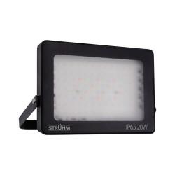 Naswietlacze-led-20w - naświetlacz led 20w z pilotem kolorowe światło rgb ip65 tablet 03988 ideus