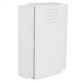 Gongi-elektryczne - biały gong drzwiowy bim-bam largo  8v gnt-208/8v sundi zamel