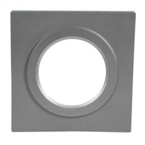 Ramka kwadratowa srebrna do oprawy LED LSR-SK-X1  KONEKTO ZAMEL