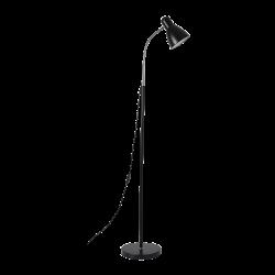 Lampy-stojace - stojąca lampa podłogowa o wysokości 155cm max 20w e27 lar ls-1/b orno
