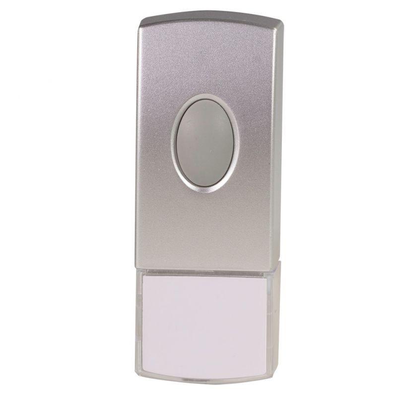 Bezprzewodowy przycisk hermetyczny do dzwonków ZAMEL ST-300P