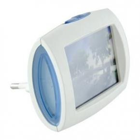 Lampka nocna do kontaktu z zimnym światłem TIVI LED IDEUS