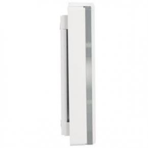 Gongi-elektryczne - gong dwutonowy glasso 230v biały gns-248 zamel