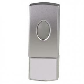 Dzwonki-do-drzwi-bezprzewodowe - dzwonek bezprzewodowy hermetyczny z sygnalizacją optyczną st-372 brillo zamel
