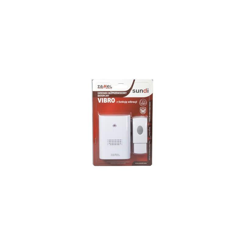 Dzwonki-do-drzwi-bezprzewodowe - dzwonek bezprzewodowy z funkcją wibracji 100m st-229/n vibro zamel firmy ZAMEL