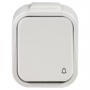 Bezprzewodowy przycisk hermetyczny dzwonkowy na baterie 150m PDH-991 ZAMEL