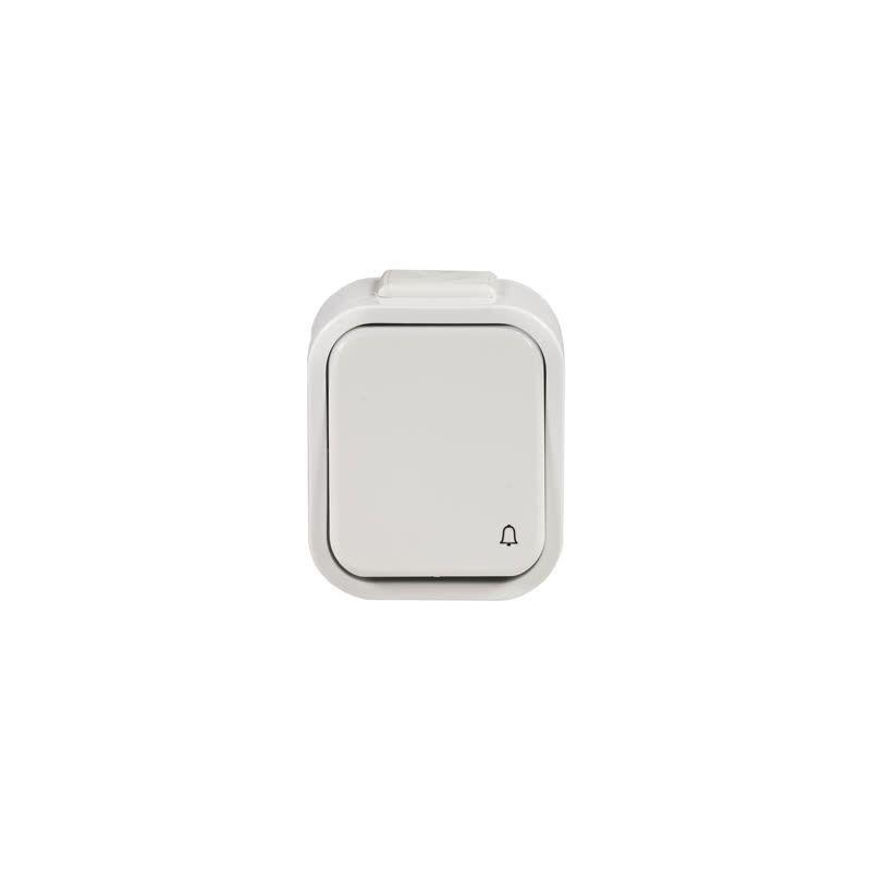 Dzwonki-do-drzwi-bezprzewodowe - bezprzewodowy przycisk hermetyczny dzwonkowy na baterie 150m pdh-991 zamel firmy ZAMEL