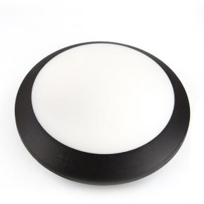 Berta Plafoniera E27 IP66 fi 275mm czarna FUMAGALLI