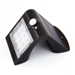 Naświetlacz solarny LED z czujnikiem zmierzchowo-ruchowym czarna IP62 OR-SL-6083BLR4 ORNO
