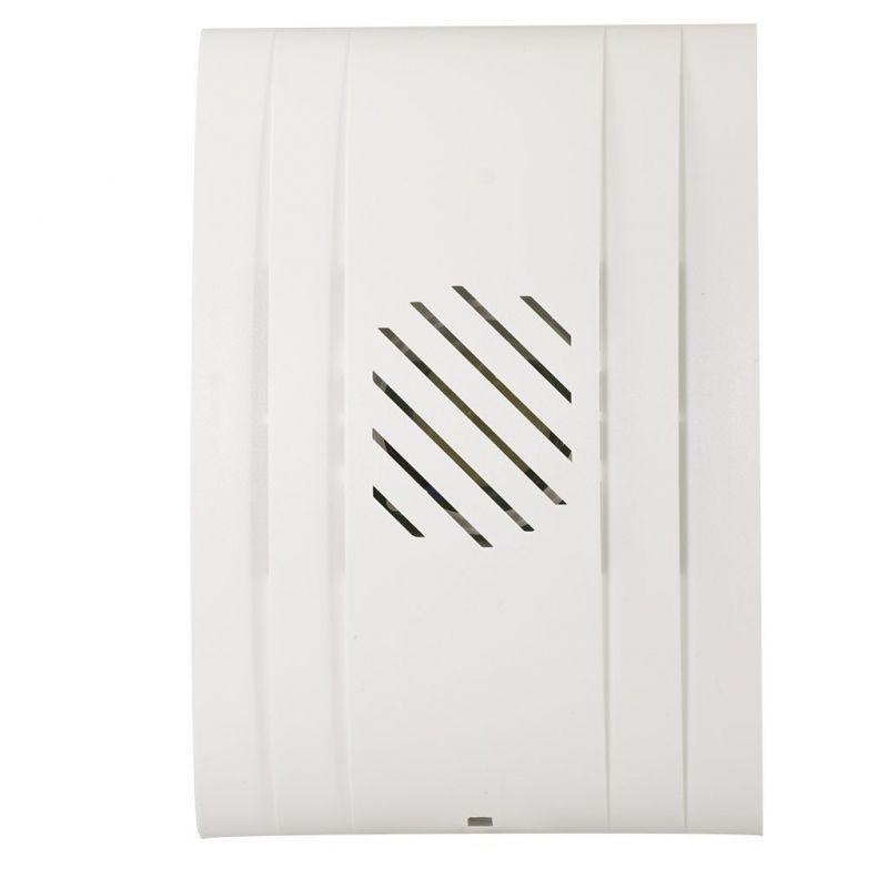 Dzwonki-do-drzwi-przewodowe - biały trójtonowy dzwonek do drzwi 230v dns-972 tres zamel firmy ZAMEL