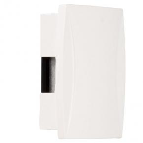 Dzwonki-do-drzwi-przewodowe - biały dzwonek dwutonowy 230 v gns-921 zamel