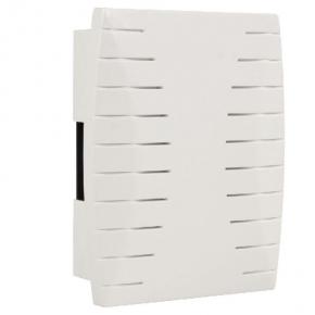 Dzwonki-do-drzwi-przewodowe - dzwonek do drzwi dwutonowy przewodowy biały gnt-931 zamel
