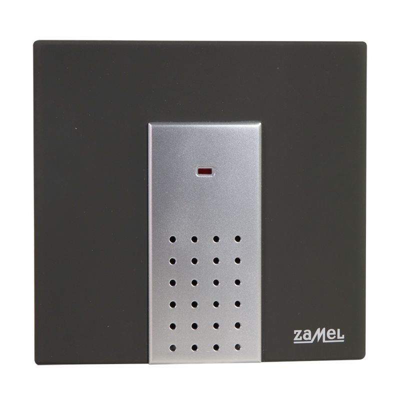 Dzwonki-do-drzwi-bezprzewodowe - dzwonek bezprzewodowy na baterie st-230 sattino duży zasięg 100 m zamel firmy ZAMEL