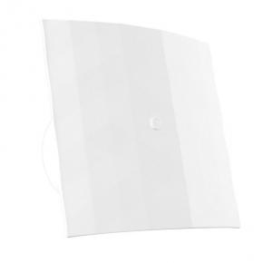 Nowoczesny biały wentylator łazienkowy 120S 007-4327W Black&White DOSPEL