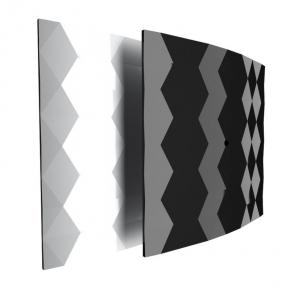 Wentylatory-z-czujnikiem-wilgotnosci - 007-4326_b ekskluzywny czarny wentylator łazienkowy z czujnikiem wilgotności black&white 100 wch dospel