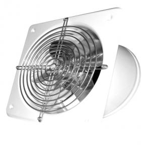 Wentylatory-przemyslowe - wentylator przemysłowy osiowy ścienny biały fi 250 007-0340a wb-s dospel