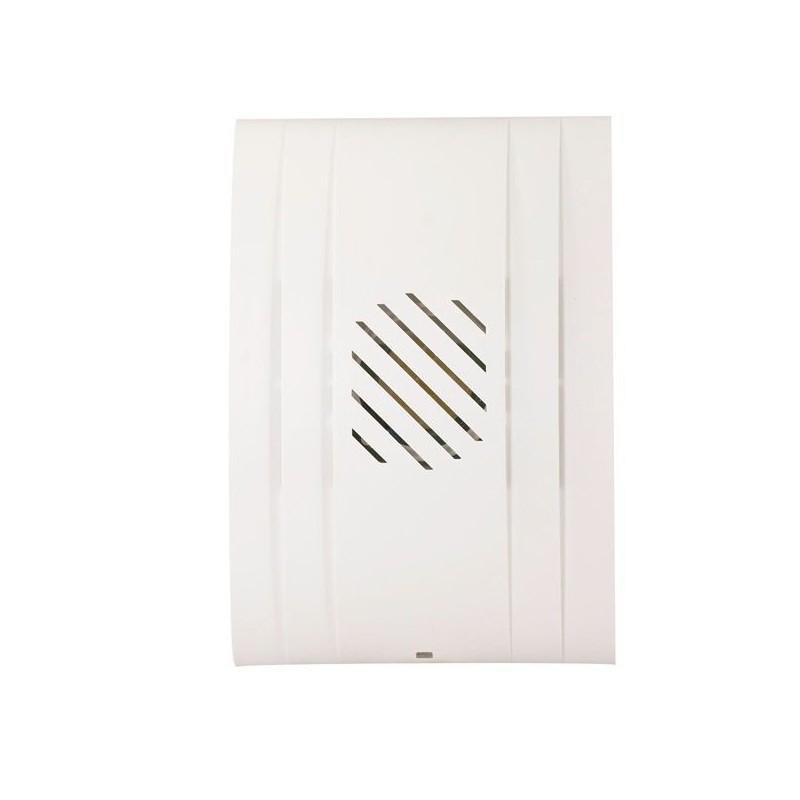 Dzwonki-do-drzwi-przewodowe - dzwonek do drzwi biały elektroniczny dnt-972/n tres zamel firmy ZAMEL