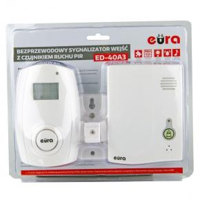 Sygnalizator wejść bezprzewodowy z czujnikiem ruchu RL-3979PIR ED-40A3 EURA