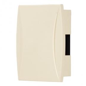 Dzwonki-do-drzwi-przewodowe - dzwonek do drzwi przewodowy beżowy dwutonowy zamel bim-bam gns-921