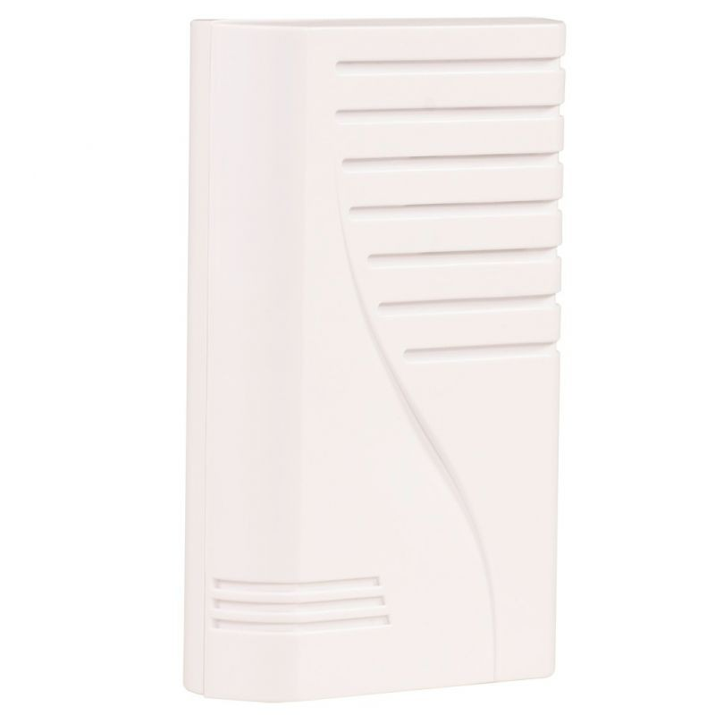 Dzwonki-do-drzwi-bezprzewodowe - biały dzwonek bezprzewodowy molik st-66 zamel firmy ZAMEL