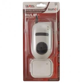Dzwonek bezprzewodowy z przyciskiem hermetycznym BULIK DRS-982H ZAMEL