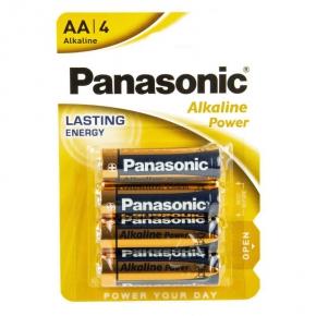 Bateria alkaliczna LR06 AA BL4 PANASONIC