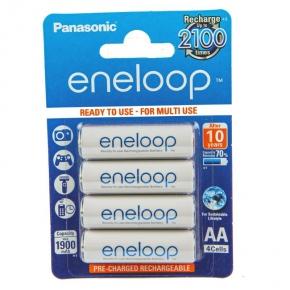 Baterie typu akumulatorki 4xAA 1,2V BK-3MCCE/4BE Eneloop PANASONIC
